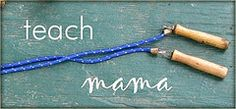 Good teaching site for mamas with craft ideas too!