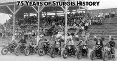 Do you know your Sturgis Motorcycle Rally history? Go back in time and learn more about how it all started. Learn the history HERE ==> http://blog.bikerornot.com/75-years-of-the-sturgis-motorcycle-rally/