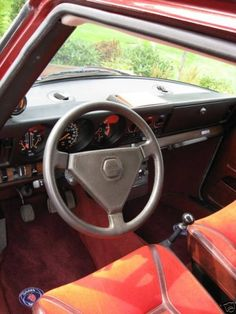 1978 Saab 99 Turbo Driver Interior - Mine was silver outside, but otherwise almost exactly like this