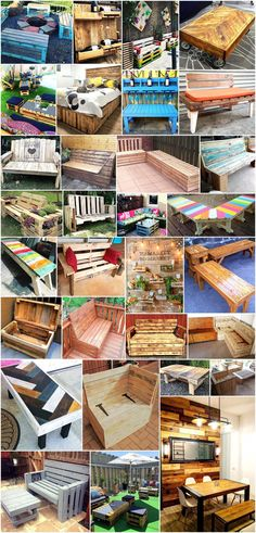 reuse used shipping wood pallets to creative cheap amazing stuffs