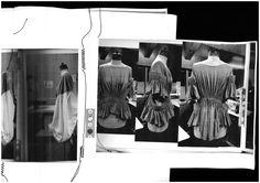 Fashion Sketchbook - fabric manipulation & stand work; fashion design development; fashion portfolio // Harry Evans