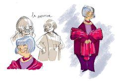 character design-Nonna by Daniela Vetro