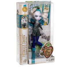 Check out the Ever After High™ Faybelle Thorn™ Doll at the official Mattel Shop website. Explore the world of Ever After High today! Mattel Shop, Mattel Dolls, Doll Toys, Ever After High, Ever After Dolls, Thing 1, Christmas Gifts For Girls, Kids Store, Fairy Dolls