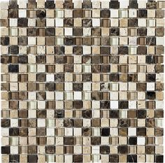This natural stone is a beautiful addition to any backsplash or shower with its rich earthtones and mid-tone color variation. LFS Medley-Stone 15LR samples available in store