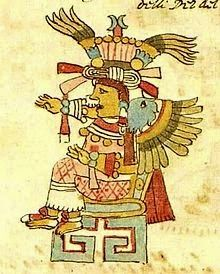 Xochiquetzal is the goddess of love in Aztec mythology.