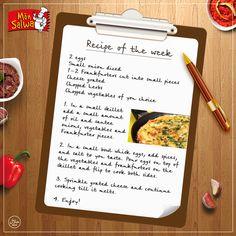 #FrankfurterOmelette #RecipeoftheWeek  #Cooking #MonSalwa