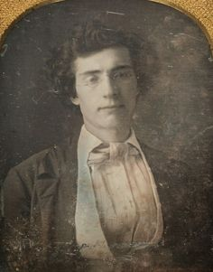 ... Recently Uncovered Daguerreotype Portrait of Photographer Mathew Brady