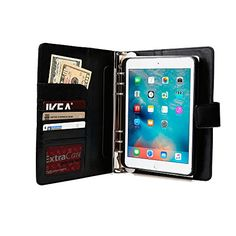 ipad mini binder | TM) FolderTab Executive Portfolio Case w/ Notepad for Apple iPad Mini ...