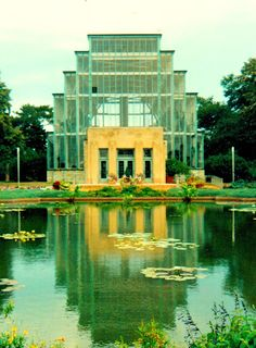 The Jewel Box/ The St Louis Floral Conservatory by William C. E. Becker, St Louis,Mo