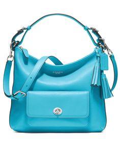 COACH LEGACY LEATHER COURTENAY HOBO - COACH - Handbags & Accessories - Macy's