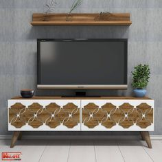 Comoda Tv Nisan - Nuc Tv Unit, Timeless Design, Living Spaces, Entertaining, Contemporary, Classic, Unique, Products, Cots