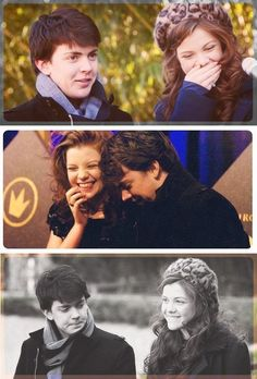 Georgie Henley & Skandar Keynes<< the way they look at each other Cs Lewis Narnia, Narnia Cast, Skandar Keynes, Edmund Pevensie, Georgie Henley, Prince Caspian, Chronicles Of Narnia, Les Miserables, Movies Showing