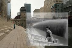 augmented reality display historical | Riverwalk: Incorporating Historical Photography in Public Outdoor ...