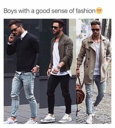 Preppy casual jeans and trench coat Men& Fashion ? Preppy Casual, Casual Jeans, Casual Outfits, Men Casual, Smart Casual, Casual Summer, Casual Dresses, Casual Ootd, Men Summer