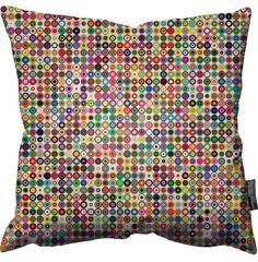 Simon C Page Circular Light Pillow.