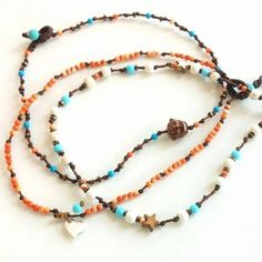 Beaded Necklace, Beaded Bracelets, Necklaces, Ankle Bracelets, Anklets, Jewels, My Favorite Things, Luxury, Handmade