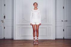 """Top """"Oiseaux de Paradis"""" BONHEUR Fashion Philosophy SS13                                                             www.bonheur-fashion.com"""