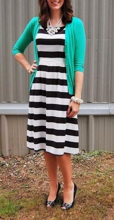I like the casual look...maybe the bold stripe isn't good for my size.