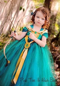 Merida The Brave Tutu Dress