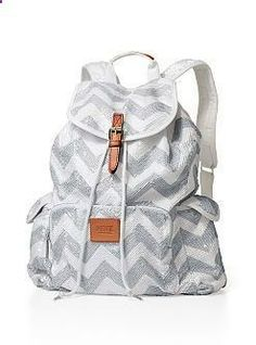 08cad272670 Backpack - PINK - Victorias Secret omg I want this so much. Victoria Secret  Backpack