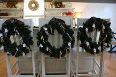 advent calender wreaths