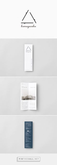 kumagusuku leaflet : UMA / design farm - created via http://pinthemall.net