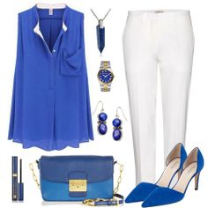 I don't like the shape of the boles but I love the color and the bag and shoes in particular.