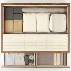 Łóżko z szufladami orzech