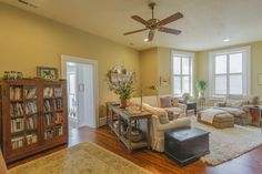 (I've always angled couches and tables this way. Not very practical.) 506 S Main St, Lexington, VA 24450 - Zillow