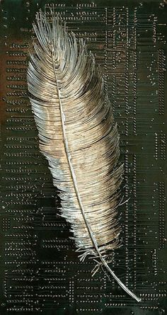 Circuits imprimés en oeuvres dart par Peter McFarlane