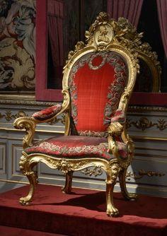 Sillón del Trono de Carlos III