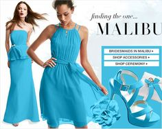 June Malibu Blue Perfect For A Summertime Wedding Pinterest And Weddings