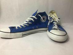 dc2fce703f9b Blue Converse All Stars Men 14 Hi Tops Chuck Taylor Unisex  fashion   clothing