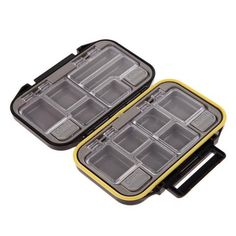 Cheap fishing box, Buy Quality box accessories directly from China tackle box lures Suppliers: Bait Tackle Waterproof Storage Box Case 12 Compartments Fishing Box Accessories Waterproof Eco-Friendly Fishing Lure Fishing Tackle Box, Bait And Tackle, Fishing Tools, Sport Fishing, Kayak Fishing, Fishing Equipment, Kayak Storage Rack, Box Storage, Plein Air
