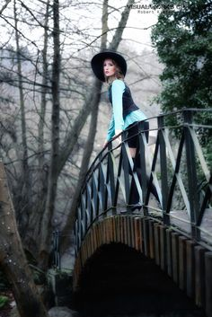"""""""The woman on bridge .."""" by visualworks cp (Rob K)"""