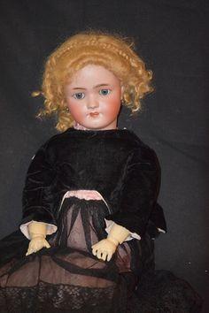 Antique Doll Simon Halbig Heinrich Handwerck Bisque Doll