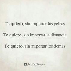 Te quiero****