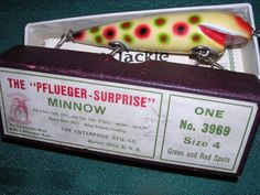 Pflueger antique fishing lures: a guide to the most valuable;
