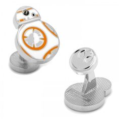 CUFFZ is proud to present to you the officially licensed Star Wars The Force Awakens cufflinks collection. The most popular Star Wars BB-8 Cufflinks is now in stock!