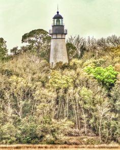 Amelia Lighthouse Photo Print by BuffaloGoods on Etsy