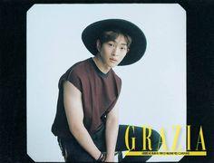 150729 SHINee Onew - Grazia Magazine August Issue