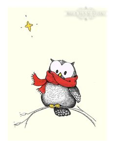 So cute ck it is funny how you start seeing things after you do something similar..I put a red thrift store scarf around my owl figurine at home and now I see red scarved owls ..lol