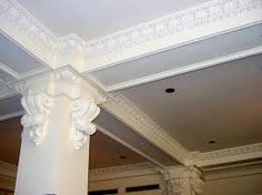 """""""GRG"""" (Glass Reinforced Gypsum) is a molded product with a high strength to weight ratio that is used in construction to replace the disappearing art of plaster. In the past, """"Master Plasterers"""" would reproduce stunning run-in-place architectural columns, domes, vaults, arches, cornices, etc... Today, there are very few """"Masters"""" left. """"GRG"""" produces these results in a premolded, light weight, time tested composite for far less the cost."""