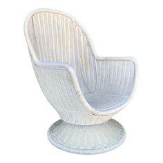 Herman Miller Aeron Chair Size B Swivel Rocker Chair, Leather Swivel Chair, Leather Dining Room Chairs, Rocking Chair, Ikea Chair, Diy Chair, Chair Bench, Mid Century Leather Chair, White Plastic Chairs