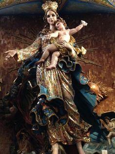 Puebla Tourist Sites, Indian Gods, Madonna, Christianity, Catholic, Saints, Painting, Fictional Characters, Beautiful