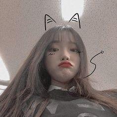 Korean Boys Ulzzang, Cute Korean Girl, Asian Girl, Korean Aesthetic, Aesthetic Girl, Uzzlang Girl, Girl Face, Western Girl, Selfie Poses