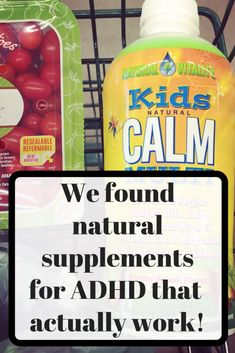 The Best ADHD Natural Supplements That Really Work We have been using these supplements for nearly three years now and we are med free! These 4 supplements really work to combat the symptoms of ADHD. We eat a super healthy diet and gets lots of slee Natural Home Remedies, Herbal Remedies, Health Remedies, Cold Remedies, Adhd Supplements, Natural Supplements, Protein Supplements, Nutritional Supplements, Adhd Help