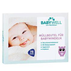 BABYWELL Müllbeutel für Babywindeln  bei BIPA kaufen Personal Care, Shopping, Organic Beauty, Masks, Self Care, Personal Hygiene