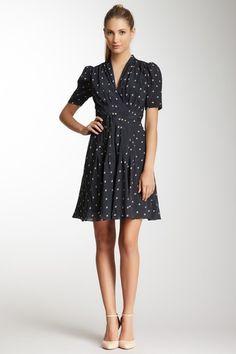 Orla Kiely Crinkle Silk Crepe Belted Tea Dress by Fresh & Flirty: Easy Summer Dresses on @HauteLook