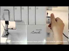Brother 3034D / M3034D overlock machine Operation Guide - YouTube